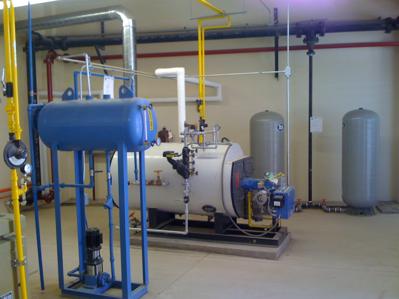 Calderas y sistemas hidraulicos equipos industriales for Caldera para alberca